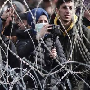 Χιλιάδες παράνομοι μετανάστες φορείς COVID-19 «πνίγουν» τονΈβρo