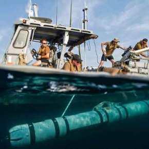 Το Ισραήλ χτύπησε μη επανδρωμένο υποβρύχιο τηςΧαμάς