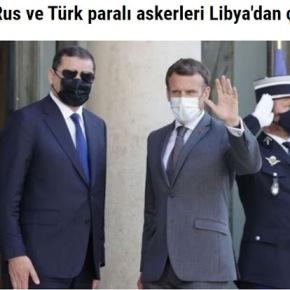 Μακρόν: Ρώσοι και Τούρκοι μισθοφόροι πρέπει να εγκαταλείψουν τηΛιβύη