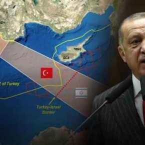 Τουρκία και Παλαιστίνη «μια ανάσα» από συμφωνία για κοινή ΑΟΖ που «εξαφανίζει» Ελλάδα &Κύπρο