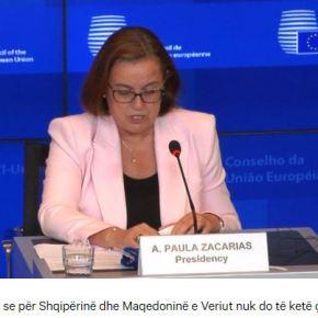 «Χωρίς έναρξη διαπραγματεύσεων για την Αλβανία και τη ΒόρειαΜακεδονία»