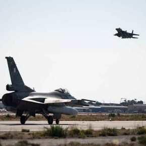 POSEIDON'S RAGE: Εικόνες από την συνεκπαίδευση ελληνικών F-16 με αμερικανικάF-15