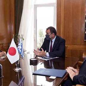 Συνάντηση Παναγιωτόπουλου με Ιάπωνα πρέσβη: Συζητήθηκε η ενίσχυση των σχέσεων στον αμυντικότομέα