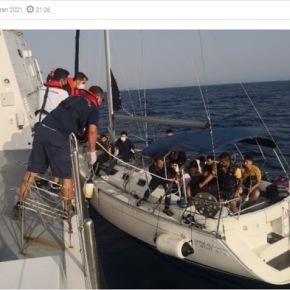 Τουρκία: «Διασώθηκαν» 51 παράτυποι μετανάστες που γύρισε πίσω η ελληνικήακτοφυλακή