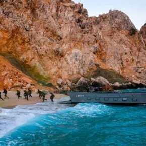 DENIZKURDU 2021: Αμφίβια αποβατική ενέργεια σε απόκρημνηακτή