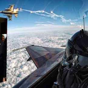 Νέο μπαράζ παραβιάσεων από την τουρκική Αεροπορία στοΑιγαίο