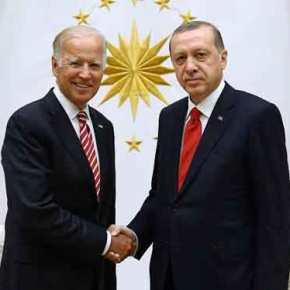 «Γη & ύδωρ» Τ.Μπάιντεν σε Ρ.Τ.Ερντογάν: Σε λίγα χρόνια η Τουρκία πιθανόν να έχειF-35!