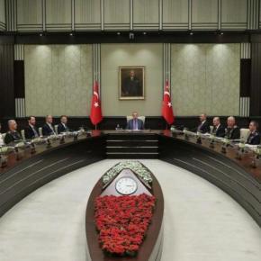 Ο Ερντογάν ζήτησε εσπευσμένα Συμβούλιο ΕθνικήςΑσφαλείας
