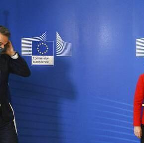 Συνάντηση Μητσοτάκη – Φον ντερ Λάιεν: Έγκριση του «Ελλάδα 2.0» και θετικά μηνύματα στηνοικονομία