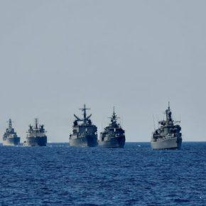 """Πολεμικό Ναυτικό: """"ΑΣΚΗΣΗ ΚΑΤΑΙΓΙΣ 2021"""" & επιθεώρησηΣτόλου"""