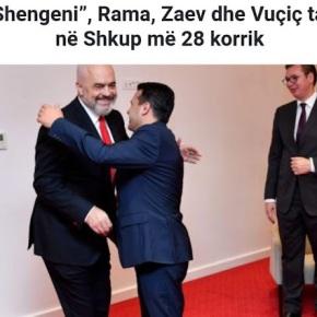 «Μίνι Σένγκεν»: Ράμα, Ζάεφ και Βούτσιτς συναντιούνται στα Σκόπια στις 28Ιουλίου