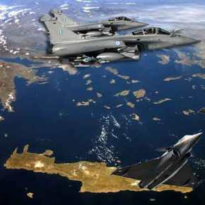 Γαλλικά μαχητικά νότια της Κρήτης και ανατολικά της Καρπάθου – Παρίσι στηρίζειΑθήνα