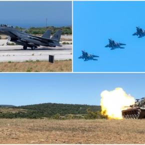 Σε ετοιμότητα οι Ένοπλες Δυνάμεις για αποτροπή των Τουρκικώνπροκλήσεων
