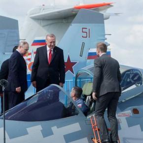 Ρώσοι: »Συζητάμε με την Τουρκία για προμήθεια μαχητικών Su-35 &Su-57»