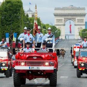Γαλλική βοήθεια στη χώρα μας: Είναι η μεγαλύτερη χερσαία αποστολή Γάλλων πυροσβεστών στοεξωτερικό