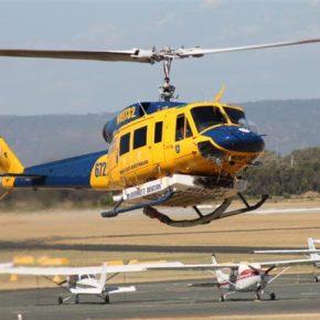 Δωρεά μισθωμένων ελικοπτέρων Bell 214-Β1 από την εταιρείαΜυτιληναίου