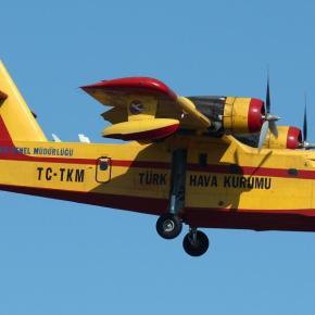 Η Τουρκία στέλνει δύο Canadair στηνΕλλάδα
