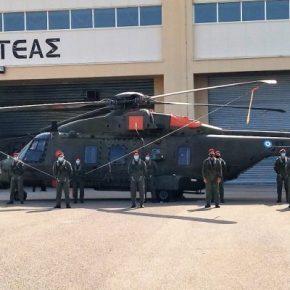 Διακλαδική μετεκπαίδευση χειριστών ελικοπτέρων NH-90 από το ΓΕΕΘΑ(ΦΩΤΟ)