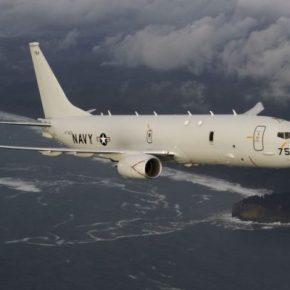 Οι ΗΠΑ διέθεσαν στην Ελλάδα ένα υπερσύγχρονο ΑΦΝΣ P-8 Poseidon για τιςπυρκαγιές