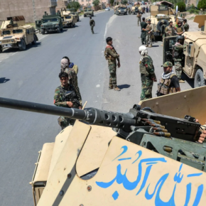 Δυνάμεις των Ταλιμπάν καταλαμβάνουν το προεδρικό μέγαρο στηνΚαμπούλ