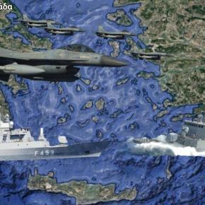 Θράσος από την Άγκυρα: »Ελληνικά μαχητικά παραβιάζουν τον τουρκικό εναέριοχώρο»!